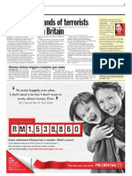 TheSun 2008-11-11 Page09 Report Thousand of Terrorits on the Loose in Britian