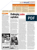 TheSun 2008-11-11 Page14 Challenging Casino Capitalism