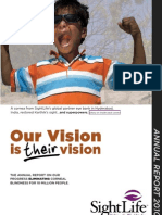 2010 Annual Report for SightLife