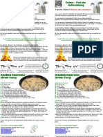 Tier-Time Flyer Ostern Green Curry