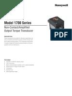Model 1700 Datasheet