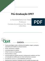Modelo Pós-Graduação PPT- PSICODINAMICA DO TRABALHO
