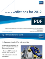 Colliers Analysis - 10 Predictions for 2012
