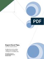 Expert Excel Tips