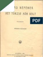 Németi Kálmán - Árpád népének hét törzse hún volt
