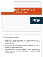 1 Taxation - Important Concepts in Taxation (Surbhi)