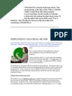 Nebulizing CS