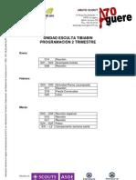 Esculta - Planning Del 2er Trimestres 2011 - 2012