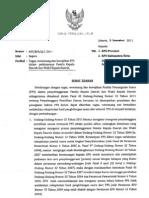 Surat Edaran tentang Tugas, Wewenang dan Kewajiban PPS Dalam Pelaksanaan Pemilukada