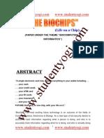 Bio Chip Paper Presentation 100115092455 Phpapp01