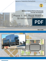 Midtown Streetscape Final Master Plan
