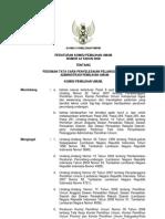 Peraturan KPU No. 44 Tahun 2008