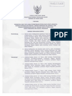 Peraturan KPU No. 45 Tahun 2008