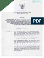 Peraturan KPU No. 46 Tahun 2008