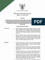 Peraturan KPU No. 48 Tahun 2008