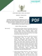 Peraturan KPU No. 01 Tahun 2009