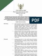 Peraturan KPU No. 08 Tahun 2009