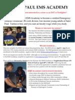 EMS Academy Summer 2012