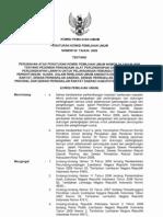 Peraturan KPU No. 09 Tahun 2009