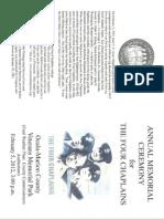 Cover-Four Chaplains Program