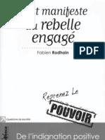 Le Petit Manifeste Du Rebelle Engagé