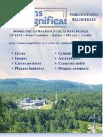 Catalogue EditionsMagnificat