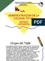 Admin is Trac Ion de La Calidad Total