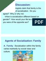 Socialization Agents Gerontology