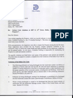 Jan. 24 letter from City of Dallas to Columbia Packing Co.