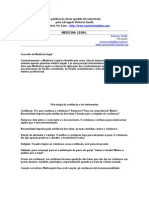 Apostila de Medicina Legal - Roberto