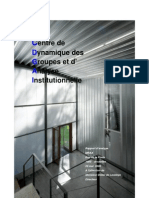 Rapport Analyse Institutionnelle Mrax 2007