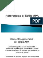 Referencias Estilo APA