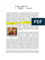 1 fAMiLiA &' EDUCACiON