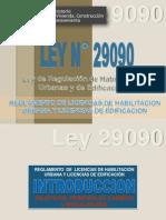 Ley 29090