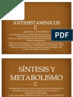 ANTIHISTAMINICOS. DIAPOSITIVAS