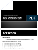 Final Job Evaluation Presentation . 12.10