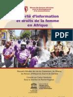 Liberté d'information et droits de la femme en Afrique