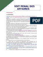 Droit Penal Des Affaires Complet
