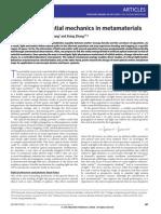 Dentcho A. Genov, Shuang Zhang and Xiang Zhang- Mimicking celestial mechanics in metamaterials