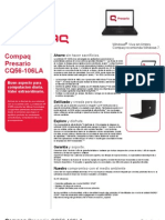 Especificaciones Compaq CQ56-106LA