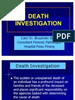 Death Investigation- Pmc