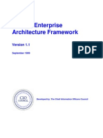 Federal Enterprise Architecture Framework