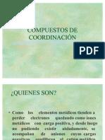 COMPLEJOS de coordinacion