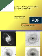 Lia Athanassoula- Spirals and rings
