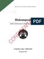 Aplikasi Biokomposit Sebagai Particleboard