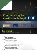 Creación de Aplicaiones Móviles en Android - ¿Qué es Android?
