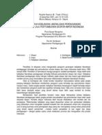 Pengaruh Kebijakan Liberalisasi Perdagangan Terhadap Laju Pertumbuhan Ekspor-impor Indonesia