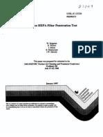 HEPA Leak Test