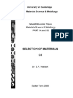 Material Selection and FMA