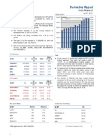 Derivatives Report 27th January 2012